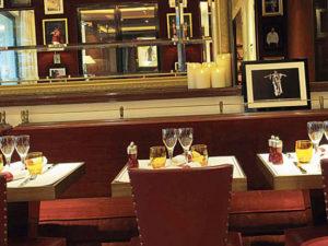 restaurant romantique a paris l entracte